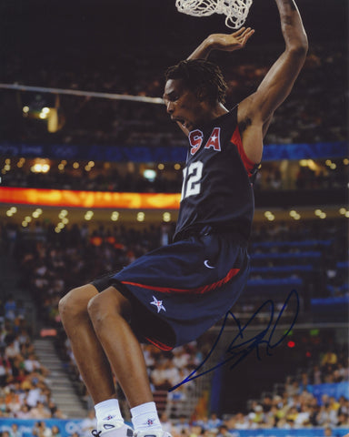 CHRIS BOSH SIGNED TEAM USA 2008 OLYMPICS 8X10 PHOTO