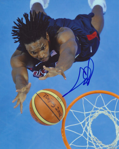 CHRIS BOSH SIGNED TEAM USA 2008 OLYMPICS 8X10 PHOTO 2