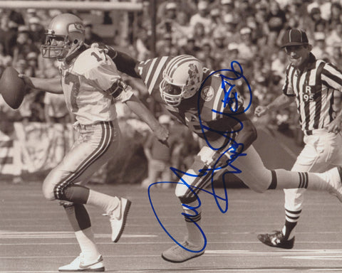 ANDRE TIPPETT SIGNED NEW ENGLAND PATRIOTS 8X10 PHOTO