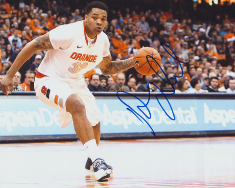 DAJUAN COLEMAN SIGNED SYRACUSE ORANGE 8X10 PHOTO