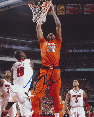 DAJUAN COLEMAN SIGNED SYRACUSE ORANGE 8X10 PHOTO 2