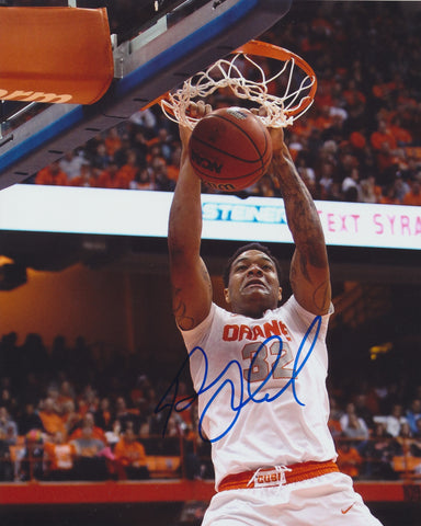 DAJUAN COLEMAN SIGNED SYRACUSE ORANGE 8X10 PHOTO 3