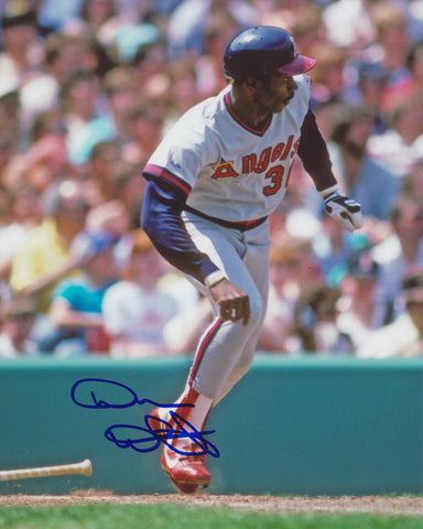 DEVON WHITE SIGNED LOS ANGELES ANGELS SIGNED 8X10 PHOTO