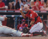 DEVIN MESORACO SIGNED CINCINNATI REDS 8X10 PHOTO 2