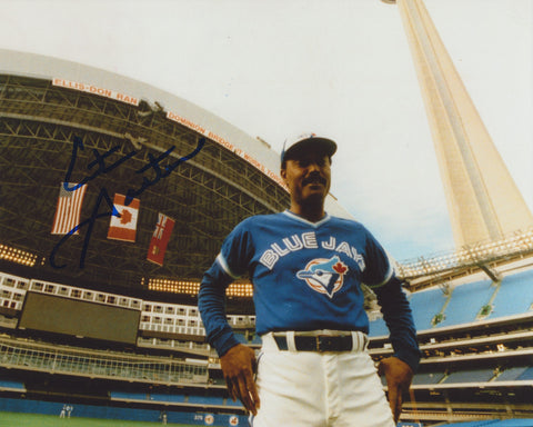 CITO GASTON SIGNED TORONTO BLUE JAYS 8X10 PHOTO