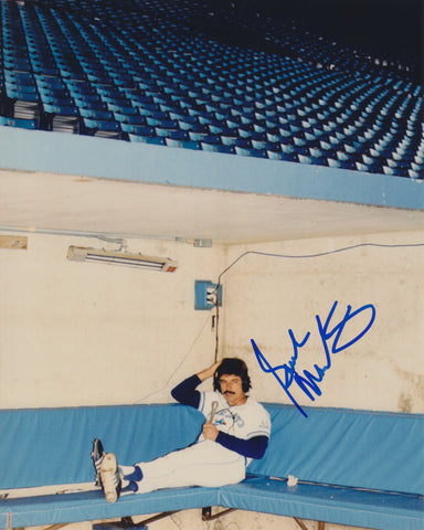 BUCK MARTINEZ SIGNED TORONTO BLUE JAYS 8X10 PHOTO