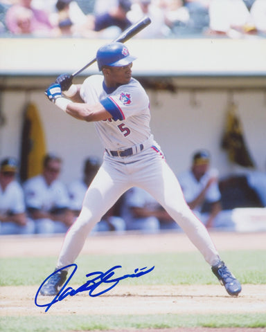 JACOB BRUMFIELD SIGNED TORONTO BLUE JAYS 8X10 PHOTO