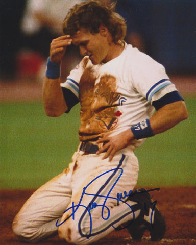 KELLY GRUBER SIGNED TORONTO BLUE JAYS 8X10 PHOTO 2