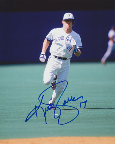 KELLY GRUBER SIGNED TORONTO BLUE JAYS 8X10 PHOTO 3