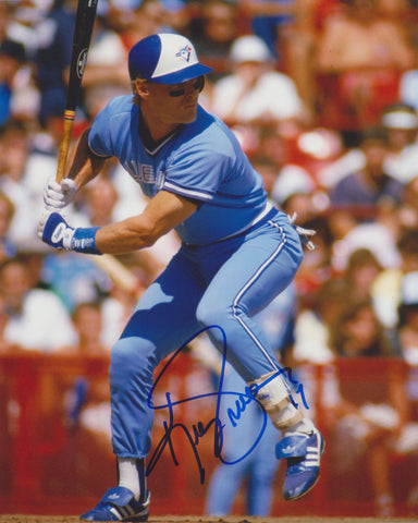 KELLY GRUBER SIGNED TORONTO BLUE JAYS 8X10 PHOTO 4