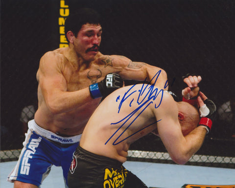 'FILTHY' TOM LAWLOR SIGNED UFC 8X10 PHOTO 2