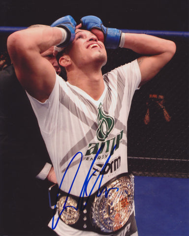ANTHONY PETTIS 'SHOWTIME' SIGNED UFC 8X10 PHOTO