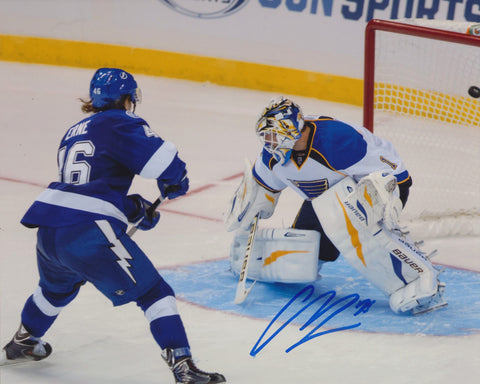 ADAM ERNE SIGNED TAMPA BAY LIGHTNING 8X10 PHOTO 2