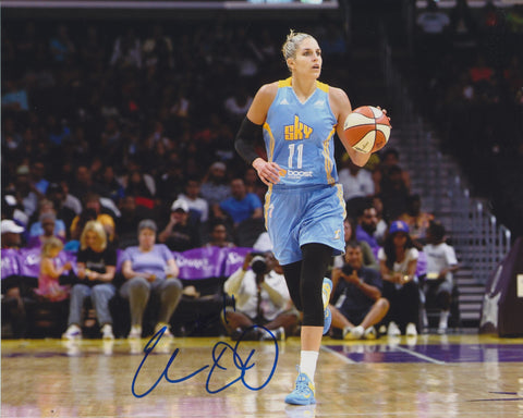 ELENA DELLE DONNE SIGNED CHICAGO SKY 8X10 PHOTO