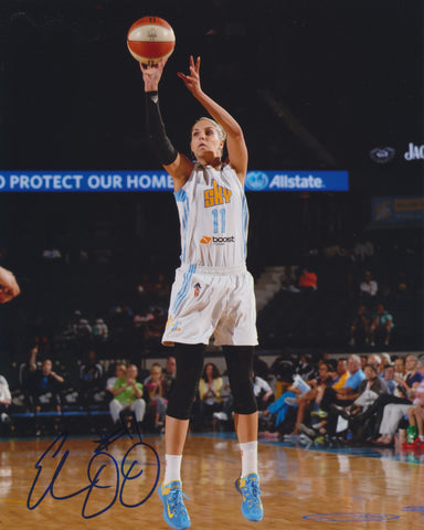 ELENA DELLE DONNE SIGNED CHICAGO SKY 8X10 PHOTO 2
