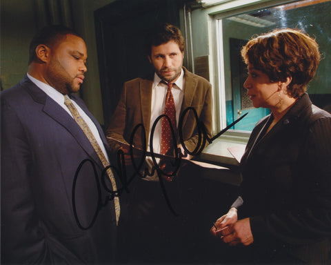 ANTHONY ANDERSON SIGNED LAW & ORDER 8X10 PHOTO