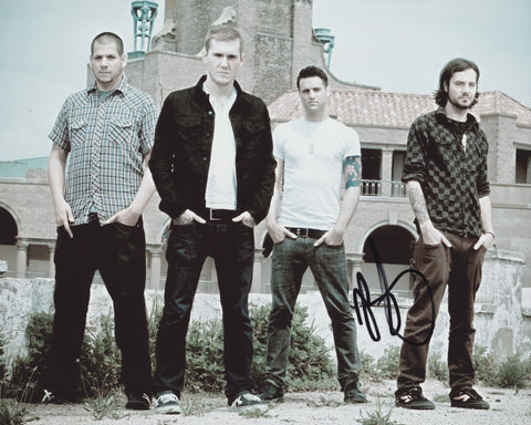 BRIAN FALLON SIGNED GASLIGHT ANTHEM 8X10 PHOTO 3