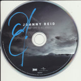 JOHNNY REID SIGNED WHAT LOVE IS ALL ABOUT CD DISK