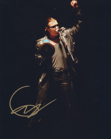 GEOFF TATE SIGNED QUEENSRYCHE 8X10 PHOTO 2