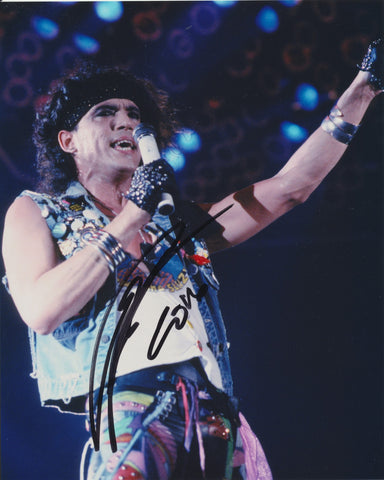 STEPHEN PEARCY SIGNED RATT 8X10 PHOTO 2