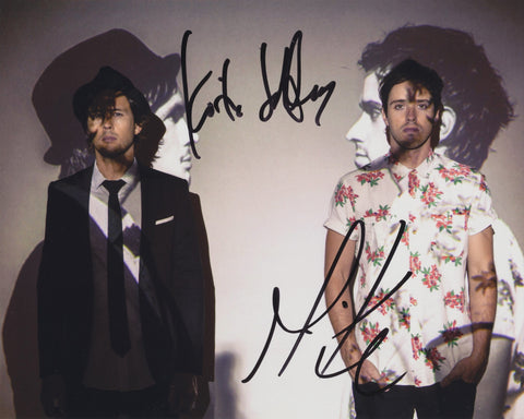 ATLAS GENIUS SIGNED 8X10 PHOTO 8