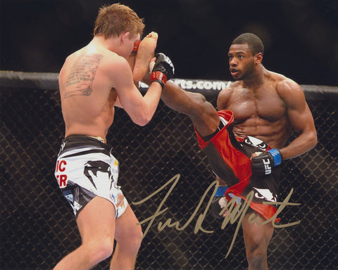 ALJAMAIN STERLING SIGNED UFC 8X10 PHOTO