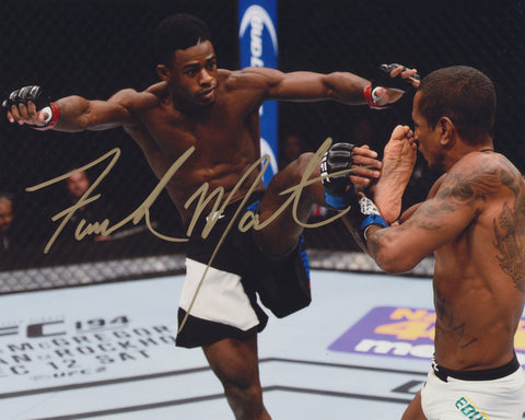ALJAMAIN STERLING SIGNED UFC 8X10 PHOTO 3