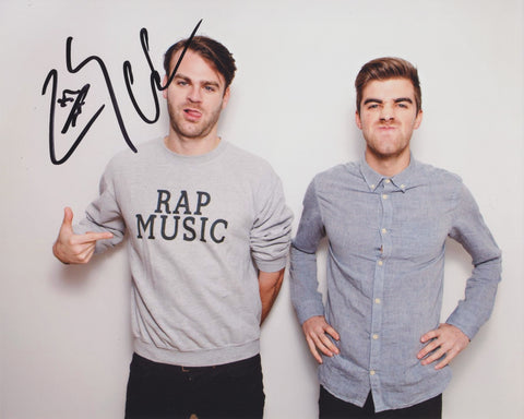 THE CHAINSMOKERS SIGNED 8X10 PHOTO 3