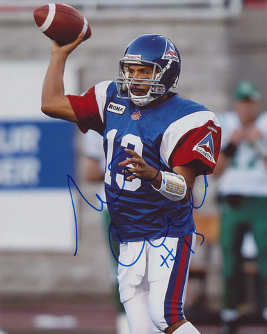 ANTHONY CALVILLO SIGNED MONTREAL ALOUETTES 8X10 PHOTO 6
