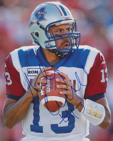 ANTHONY CALVILLO SIGNED MONTREAL ALOUETTES 8X10 PHOTO 7