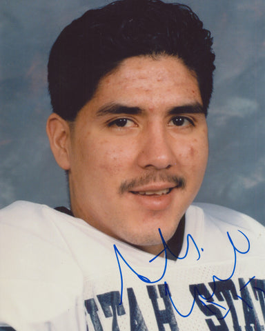 ANTHONY CALVILLO SIGNED UTAH STATE 8X10 PHOTO
