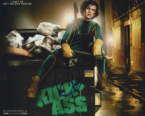 AARON TAYLOR-JOHNSON SIGNED KICKASS 8X10 PHOTO 2