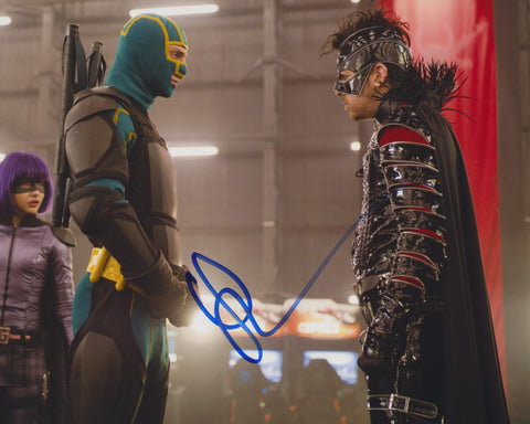 AARON TAYLOR-JOHNSON SIGNED KICKASS 8X10 PHOTO