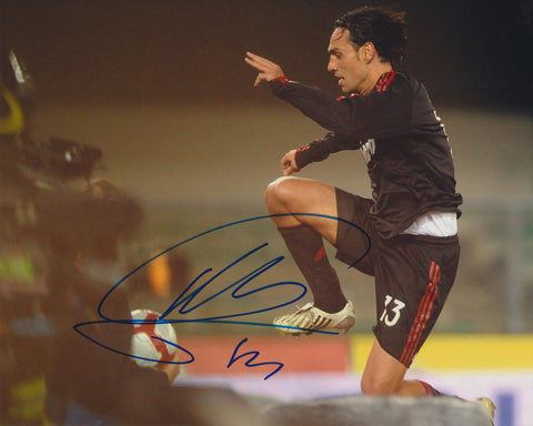 ALESSANDRO NESTA SIGNED AC MILAN 8X10 PHOTO