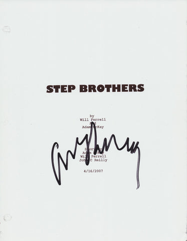 ADAM MCKAY SIGNED STEP BROTHERS 128 PAGE FULL SCRIPT