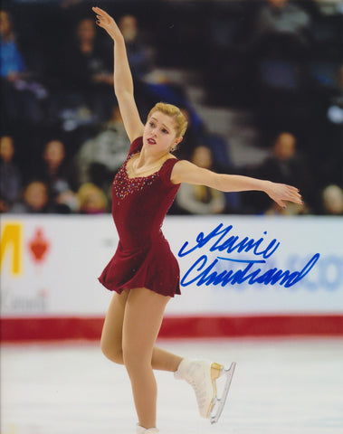 ALAINE CHARTRAND SIGNED FIGURE SKATING 8X10 PHOTO 3