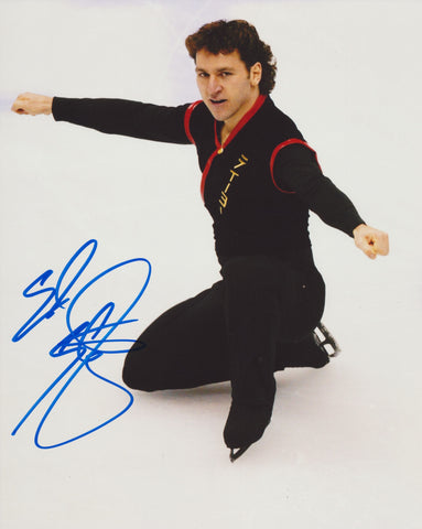 ELVIS STOJKO SIGNED FIGURE SKATING 8X10 PHOTO