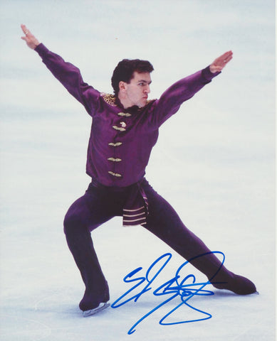 ELVIS STOJKO SIGNED FIGURE SKATING 8X10 PHOTO 2