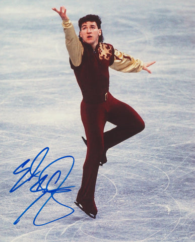 ELVIS STOJKO SIGNED FIGURE SKATING 8X10 PHOTO 3