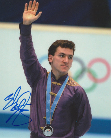 ELVIS STOJKO SIGNED FIGURE SKATING 8X10 PHOTO 4