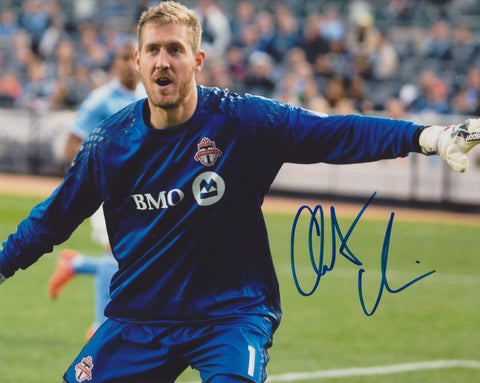 CLINT IRWIN SIGNED TORONTO FC 8X10 PHOTO 2
