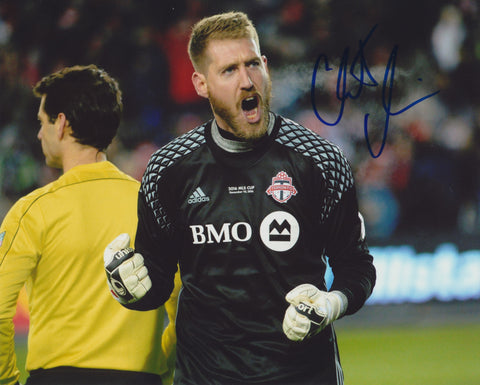 CLINT IRWIN SIGNED TORONTO FC 8X10 PHOTO