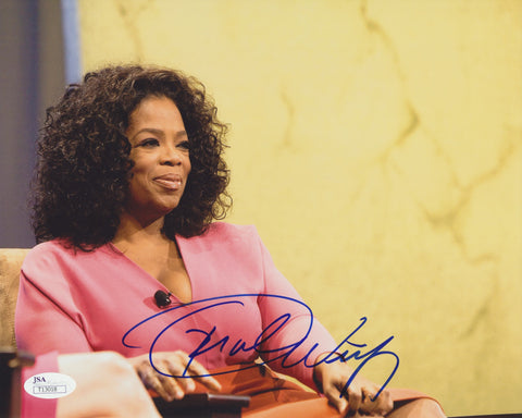 OPRAH WINFREY SIGNED 8X10 PHOTO JSA