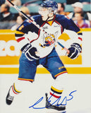 AARON EKBLAD SIGNED BARRIE COLTS 8X10 PHOTO