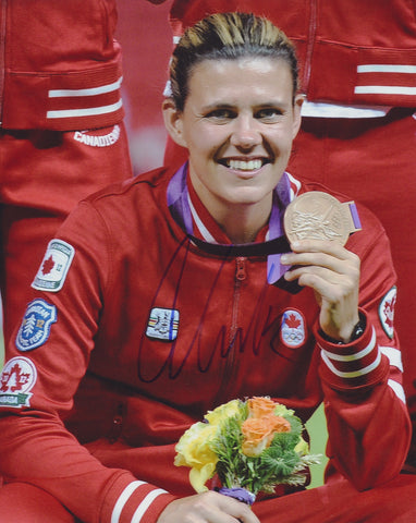 CHRISTINE SINCLAIR SIGNED TEAM CANADA 2012 OLYMPICS 8X10 PHOTO 4