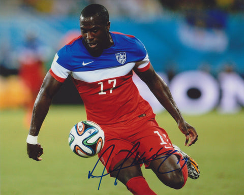 JOZY ALTIDORE SIGNED TEAM USA SOCCER 8X10 PHOTO