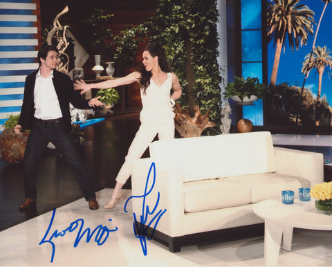 TESSA VIRTUE & SCOTT MOIR SIGNED ELLEN 8X10 PHOTO