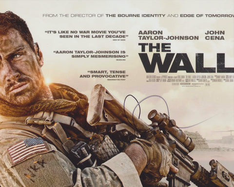 AARON TAYLOR-JOHNSON SIGNED THE WALL 8X10 PHOTO