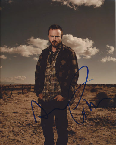 AARON PAUL SIGNED BREAKING BAD 8X10 PHOTO 2