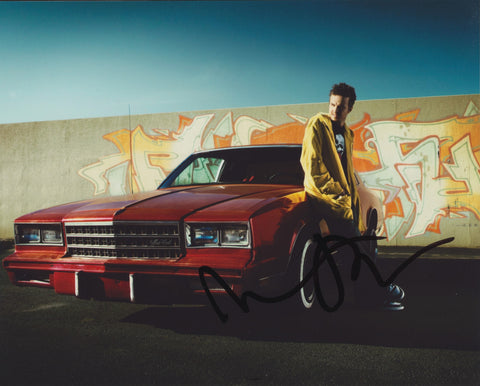 AARON PAUL SIGNED BREAKING BAD 8X10 PHOTO 3